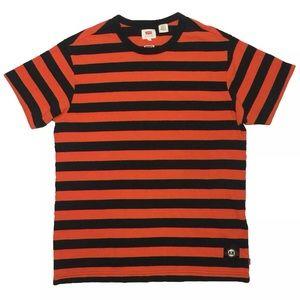 Sz M STRIPED LEVI'S x SAN FRANCISCO GIANTS T-Shirt